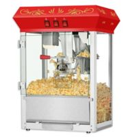 Superior Popcorn Company Countertop Popcorn Machine in Red