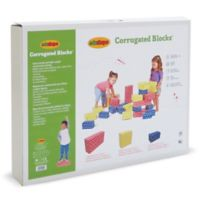 Edushape Corrugated Blocks - 36 Pc