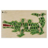 Edushape Standard Item Abc Alligator Puzzle