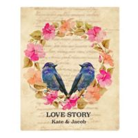 Astra Art Love Story Cool 11-Inch x 14-Inch Canvas Wall Art