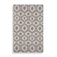 Momeni Bliss Grey 8-Foot x 10-Foot Area Rug