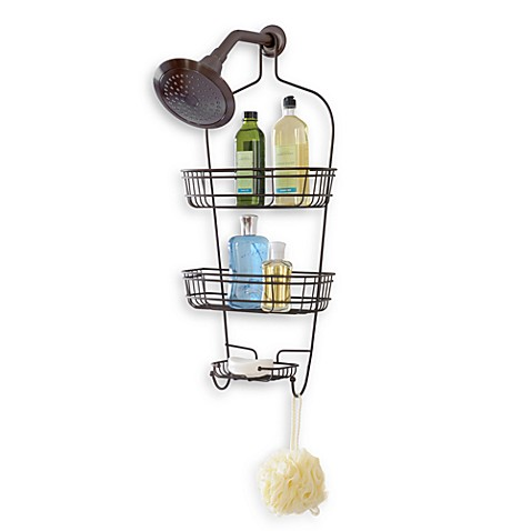 Totally Bath Luxury Shower Caddy in Oil Rubbed Bronze - Bed Bath ...