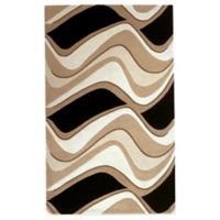 KAS Eternity Waves 5-Foot x 8-Foot Area Rug