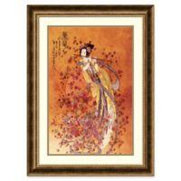 Amanti Art 24.13-Inch x 32.13-Inch Goddess of Prosperity Framed Wall Art