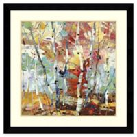 Amanti Art Color Burst 33-Inch Square Framed Wall Art