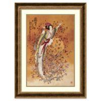 Amanti Art Chinese Goddess of Wealth 24-Inch x 32-Inch Framed Wall Art