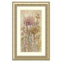 Amanti Art Floral Chinoiserie II 32-Inch x 50-Inch Framed Wall Art