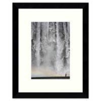 Amanti Art Iceland 113: Waterfall Framed Wall Art
