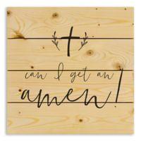 """Designs Direct """"Can I Get an Amen"""" Pallet Wood Wall Art"""