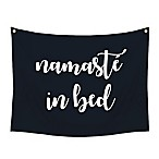 "Stratton Home Decor ""Namaste in Bed"" 30-Inch x 40-Inch Wall Tapestry"