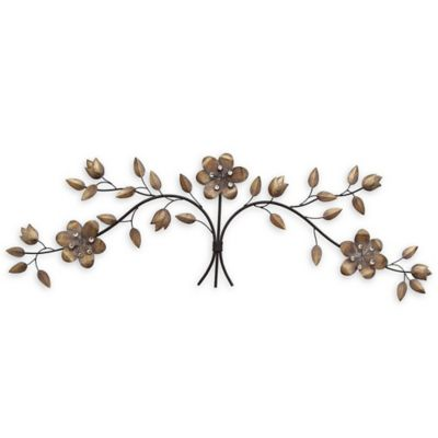 Buy Floral Metal Wall Art from Bed Bath & Beyond