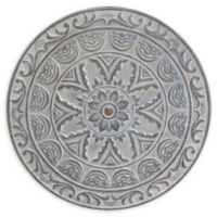 Stratton Home Décor Medallion Wall Art in Distressed Blue