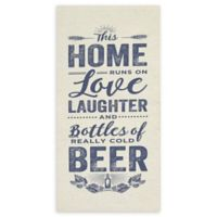 Stratton Home Decor Home Love and Beer Wall Art