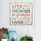 Stratton Home Décor Love Simply Typography Wall Art
