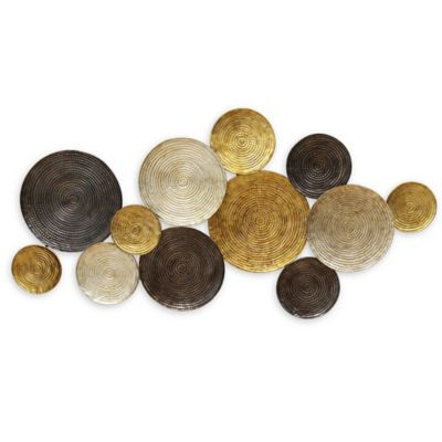 Buy Metal Circles Wall Art from Bed Bath & Beyond
