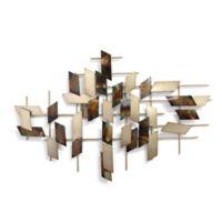 Stratton Home Décor 35-Inch Mosaic Metal Wall Art
