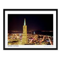 Artography SF Northbeach Framed 19-Inch x 25-Inch Wall Art