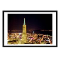 Artography SF Northbeach Framed 25-Inch x 37-Inch Wall Art