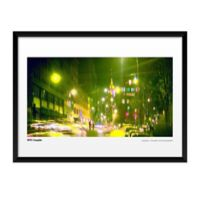 Artography NYC Couple Framed 19-Inch x 25-Inch Wall Art