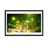 Artography NYC Couple Framed 25-Inch x 37-Inch Wall Art