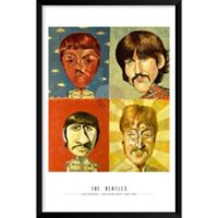 Artography Limited The Beatles 25-Inch x 37-Inch Wall Art