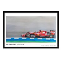 "Artography Limited Kimi Raikkonen Ferrari 2015 25"" x 37"" Wall Art"