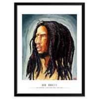 Artography Limited Bob Marley 19-Inch x 25-Inch Framed Wall Art