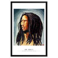 Artography Limited Bob Marley 25-Inch x 37-Inch Framed Wall Art