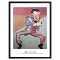Artography Limited John Travolta 19-Inch x 25-Inch Framed Wall Art