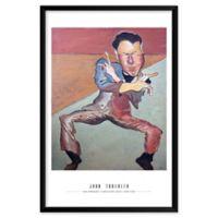 "Artography Limited ""John Travolta"" 25-Inch x 37-Inch Framed Wall Art"