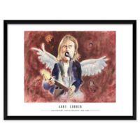 "Artography Limited Kurt Cobain 19"" x 25"" Wall Art"