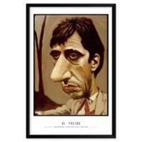 Dan Springer's Al Pacino 25-Inch x 37-Inch Wall Art