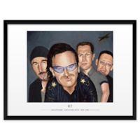"Artography Limited U2-1 19"" x 25"" Wall Art"