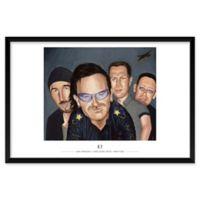 "Artography Limited U2-1 25"" x 37"" Wall Art"
