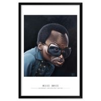 Artography Limited Miles Davis 25-Inch x 37-Inch Framed Wall Art