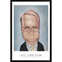 "Artography Limited Philip Seymour Hoffman 25"" x 37"" Wall Art"
