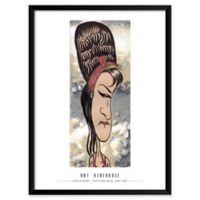 Dan Springer's Amy Winehouse 19-Inch x 25-Inch Wall Art