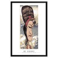 Dan Springer's Amy Winehouse 25-Inch x 37-Inch Wall Art