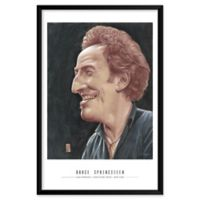 Artography Limited Bruce Springsteen 25-Inch x 37-Inch Framed Wall Art