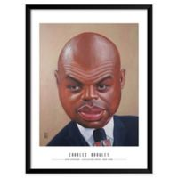 Dan Springer's Charles Barkeley 19-Inch x 25-Inch Wall Art