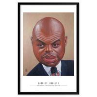 Dan Springer's Charles Barkeley 25-Inch x 37-Inch Wall Art