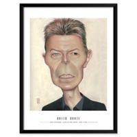 Dan Springer's David Bowie 19-Inch x 25-Inch Wall Art