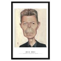 Dan Springer's David Bowie 25-Inch x 37-Inch Wall Art