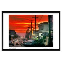"Artography Limited ""Balboa Blvd."" 25-Inch x 37-Inch Framed Wall Art"