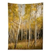 Deny Designs Bird Wanna Whistle Golden Aspen Tapestry