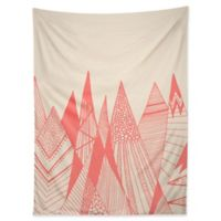 Deny Designs 80-Inch x 60-Inch Viviana Gonzalez Pattern Mountains Wall Tapestry