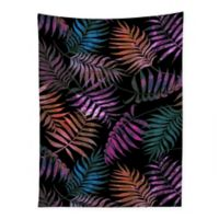Deny Designs 80-Inch x 60-Inch Schatzi Brown Reeya Tropical Night Wall Tapestry