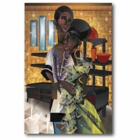 Courtside Market 12-Inch x 18-Inch Do You Love What You Feel? Canvas Wall Art