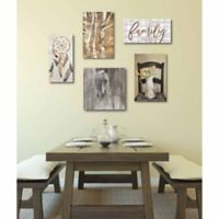 Courtside Market 5-Piece Country Charm Gallery Canvas Wall Art Set