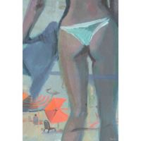 "Parvez Taj ""Hot in Brazil"" 24-Inch x 36-Inch Canvas Print Wall Art"